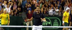 Jamie Murray dominated at the net with several winners as Britain fought back