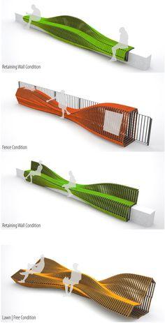 Rocker Lange Architects, Urban Adapter HK 2.0, Christian J. Lange, Ingeborg M. Rocker, urban furniture