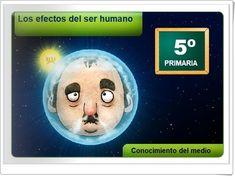 """""""Los efectos del ser humano sobre el clima"""" (Aplicación interactiva de Ciencias Sociales de Primaria)"""