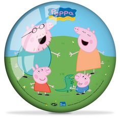 5.5 inch play ball featuring images of Peppa Pig