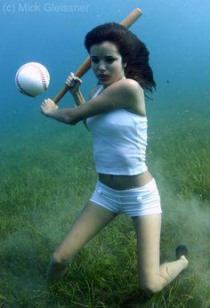 Underwater Baseball by underwatermeister.deviantart.com on @DeviantArt