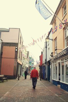 Cowes, Isle of Wight // England {THIS IS HOME}  The town where my father was from.