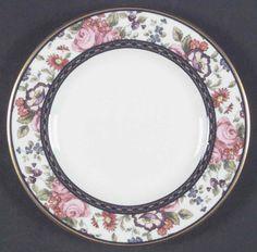 doulton china patterns   manufacturer royal doulton china pattern centennial rose piece bread ...