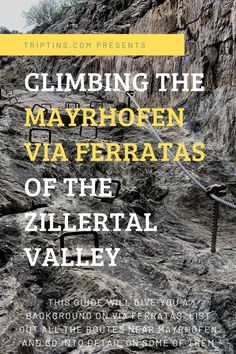 If you are looking to take part of a Mayrhofen Via Ferrata you have come to the right place. This guide will go over Klettersteigs near Mayrhoen and the Pfeilspitzwand route as well. Climbing Harness, Austria Travel, Countries To Visit, Make It Through, Train Station, Travel Guides, Travel Inspiration, Things To Think About, Travel Destinations