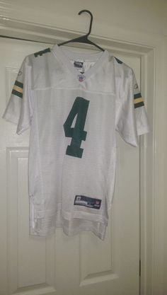 NFL Equipment Authentic Unisex Kid's Green Bay Packers Favre #4 Jersey Size L  #NFLEquipmentAuthentic #GreenBayPackers