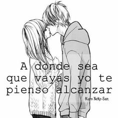 Anime love picture end result with phrases in Spanish Spanish Phrases, Love Phrases, Love Words, Love Images, Love Pictures, Anime Love, Romantic Manga, I Love You Quotes, Girly Quotes