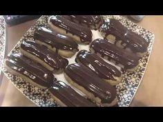 Эклеры Заварное тесто  Изумительные эклеры от Юрия Волкова.  Стань мастером в своей домашней кондитерской с нашими простыми видеороликами! Видео раскроет профессиональные секреты ведущих ресторанов, а также предложит простой в исполнении и оригинальный рецепт самых популярных пирожных!