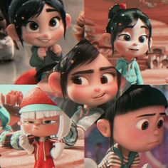 Vanellope, Disney Characters, Fictional Characters, Disney Princess, Art, Art Background, Kunst, Performing Arts, Fantasy Characters