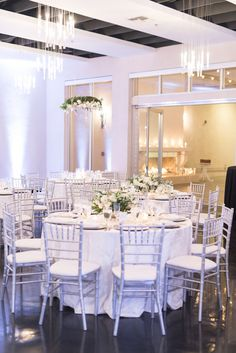 All White Wedding: