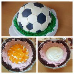 Geburtstagstorte für einen Fußballfan!