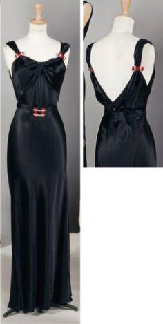 Louiseboulanger - c. 1935 - Haute Couture dress - 1930's Fashion