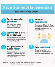 5 aportaciones de la #neurociencia para mejorar tus #clases