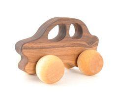 Jouet en bois voiture - éco bois jouet pour bébé, enfant en bas âge ou l'enfant d'âge préscolaire - Montessori inspiré jouet