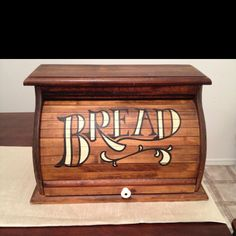 I NEED a bread box...and this one's adorbs!