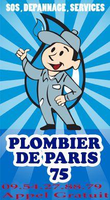 ⇒ Plombier Paris 15: SOS, dépannage et urgence sur plombier 75015