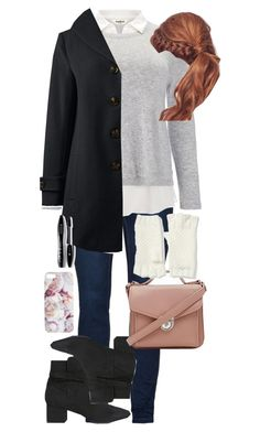 Winter! ft. Plus Size by travelerofthenight on Polyvore featuring polyvore fashion style Studio 8 Lands' End Lane Bryant Forever 21 Collection XIIX Lancôme clothing Winter plussize