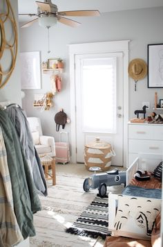In the His and Her Nursery with Little Adi + Co. - Project Nursery Shared His and Her Nursery + Todd