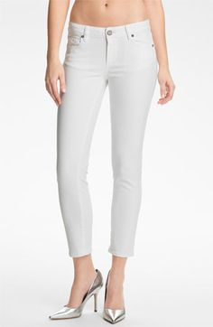 7554171e1b6 Spring Whites  Paige Denim Kylie Crop Skinny Jeans Cropped Skinny Jeans