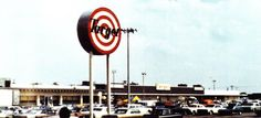 The very first Target store, located in Roseville, Minnesota, a suburb just north of the Twin, May 1, 1962.  Cities.