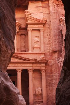 Petra Jordan. The red city that was seen in Indiana Jones.  Absolutely amazing!
