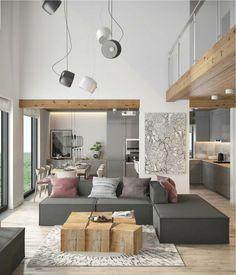 23 images inspirantes de Salon / Mezzanine en 2019   Attic spaces ...