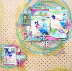 My Scraps and More DT Project - April Sketchathon - Crate Paper & Studio Calico