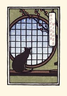 Yoshiko Yamamoto - Cat in the Window (Holiday)