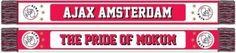 Ben jij een echte fan van Ajax? Dan kan deze sjaal echt niet ontbreken! Deze sjaal houd je lekker warm en je laat iedereen zien dat jij voor de mooie club Ajax Amsterdam staat!   Afmeting: volgt later.. - Sjaal ajax rood/wit pride of mokum