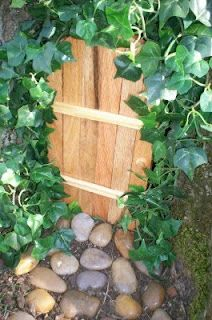 My fairy door, place it by a tree... so cute!