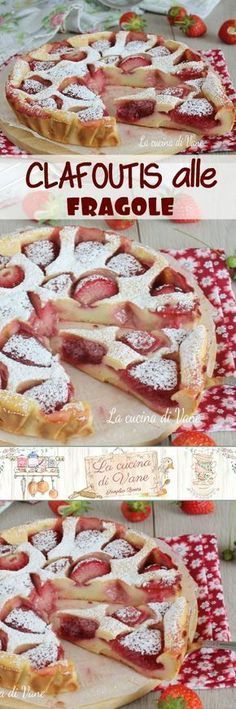 MPOWER/// CLAFOUTIS ALLE FRAGOLE un dolce cremoso e profumato facile e veloce #fragole #dolce