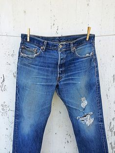 Vintage LEVIS 501 Jeans 34 Waist Boyfriend by HuntedFinds on Etsy Levis  501, Vintage Levis 09f67630bd7