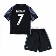 Real Madrid Børn Fodboldtrøjer 2016-17 Ronaldo 7 3. Trøje