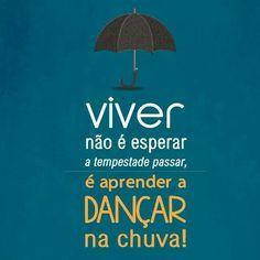 Vamos dançar na chuva!
