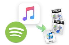 Convertir Spotify Music et Apple Music en MP3, AAC ou WAV