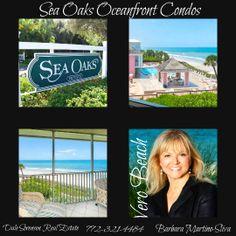 SEA OAKS OCEANFRONT CONDOS VERO BEACH FLORIDA.  Ocean to river lifestyle community with beach club, tennis club, marina, dining and many social activities.   http://www.VeroPremierProperties.com