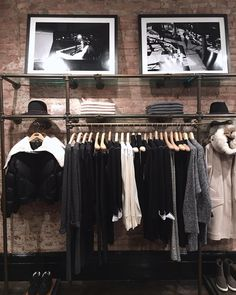 "RAG&BONE,Mercer Street, Soho, New York City, ""Winter Layers"", pinned by Ton van der Veer"