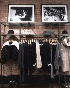 "RAG&BONE,Mercer Street, Soho, New York City, ""Winter Layers"", pinned by Ton van der Veer"