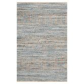 Found it at AllModern - Cape Cod Natural and Blue Area Rug
