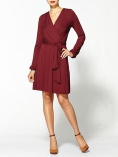 Michael Stars Wren Dress in Cinnamon @Commandress
