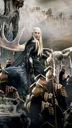 Thranduil and his army