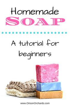 Do you want to learn to make soap that is gentle, nourishing and healing? And do you want it to smell like delicious home-baked goodies? Well look no further -- here is the recipe for you! Easy Homemade Soap Recipe and Tutorial