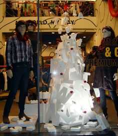 Window display christmas