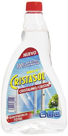 cristasol - Clean Crystals - Total Transparency - 750 ml