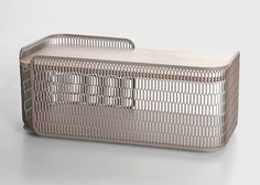 thedesignwalker: Metal mesh used to create furniture collection for Kettal.