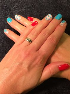 Dr. Seuss nails in Shellac