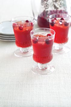 Cranberry-Bourbon Sippers at PaulaDeen.com