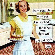Cooking, Baking, Whoa Mumma
