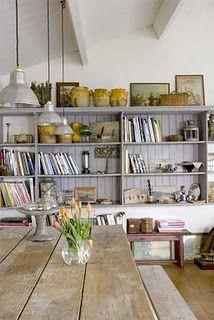 Scandinavian style floating book shelf