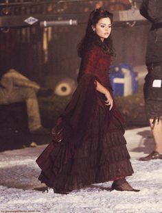 Jenna-Louise on set filming the Doctor Who                                                                                                                                                                                 More