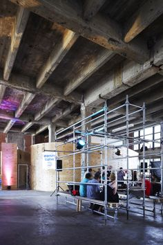 Images by Christine Francis Photography, Tooth & Claw.House was the Hub of Melbourne Music Week a 10 day pop-up event space held in the Argus building. The iconic yet dilapidated building on. Melbourne, Sashimi, Pop Up, Architecture Design, Sweet Home, House, Interior Design, Building, Furniture
